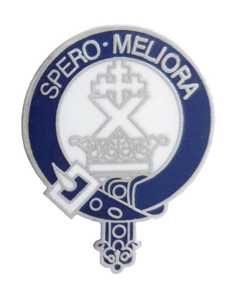 Spero Meliroa Scottich Clan Pin